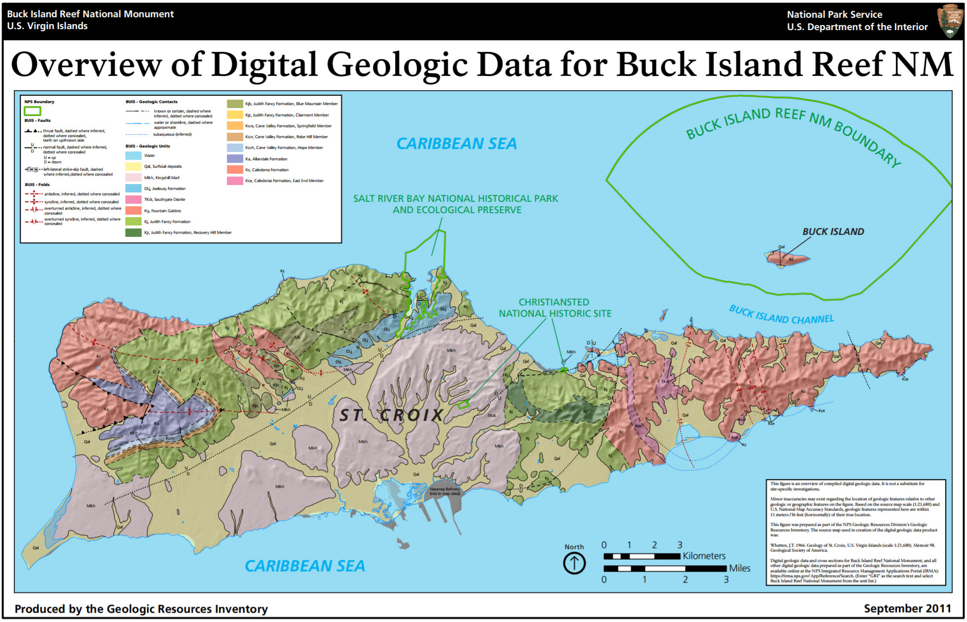 NPS Geodiversity Atlas—Buck Island Reef National Monument, Virgin ...