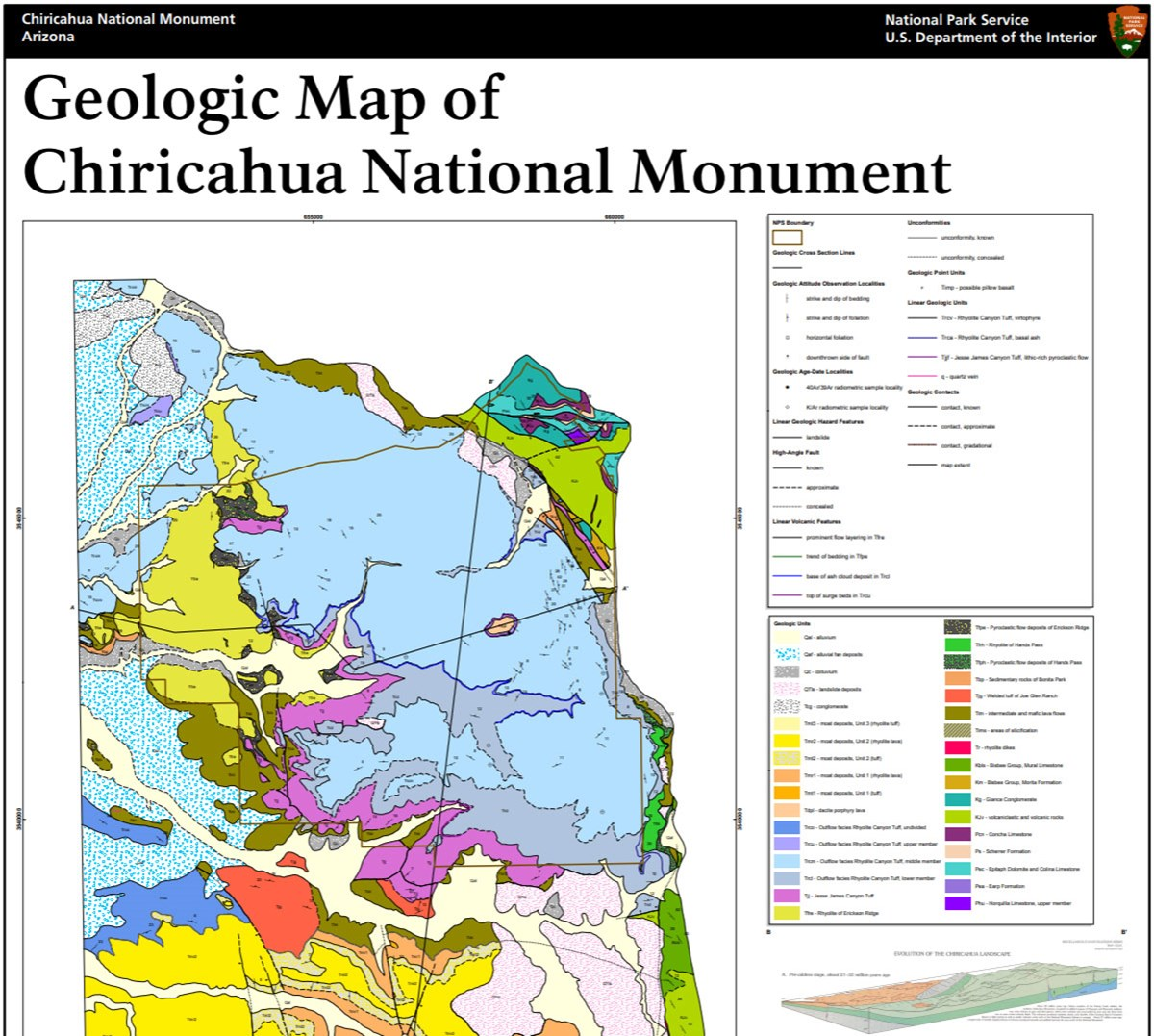 image of gri geologic map
