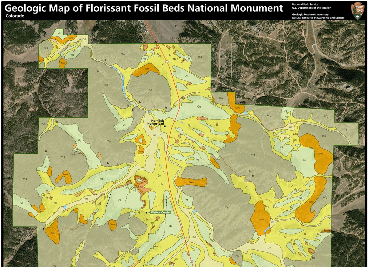 florissant fossil beds gri map