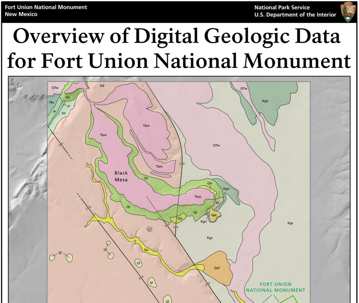 fort union area gri geologic map