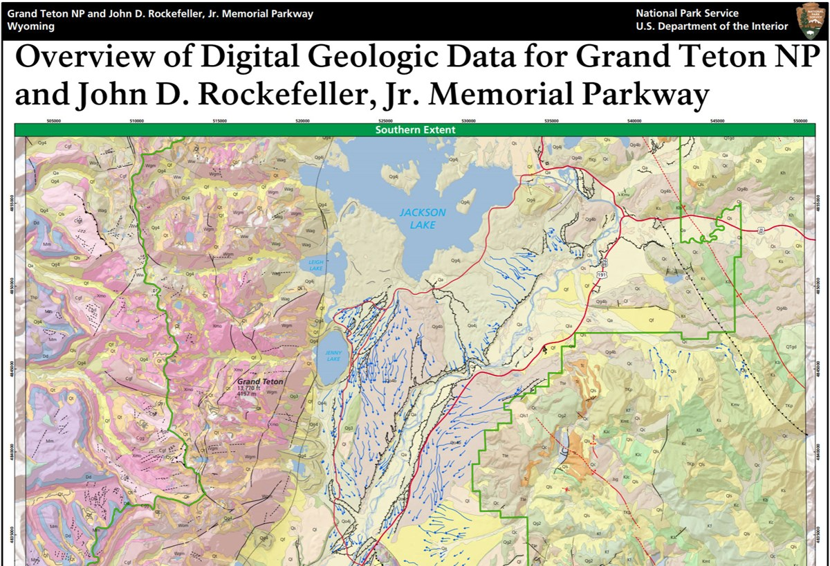 image of grand teton gri geologic map