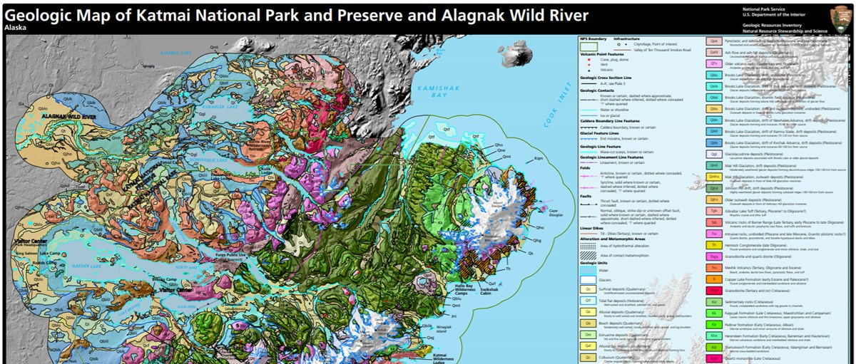 image of park geologic map