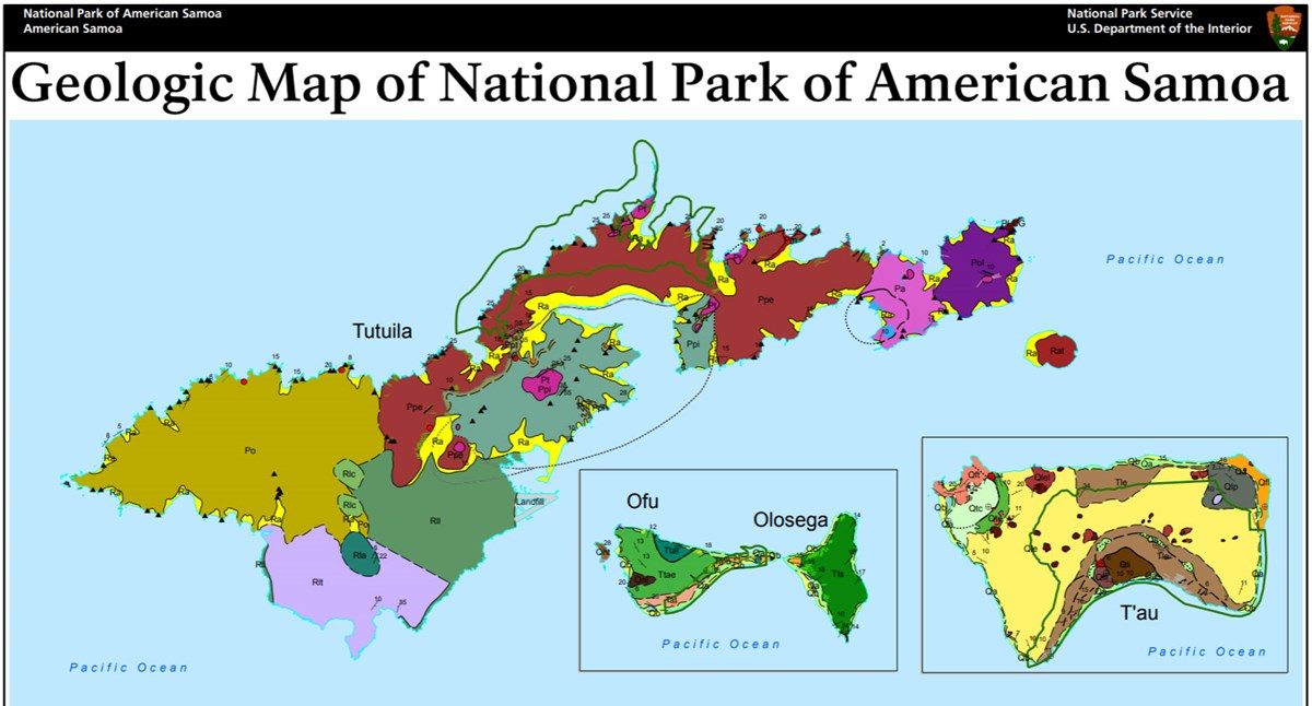 NPS Geodiversity Atlas—National Park of American Samoa, American ...