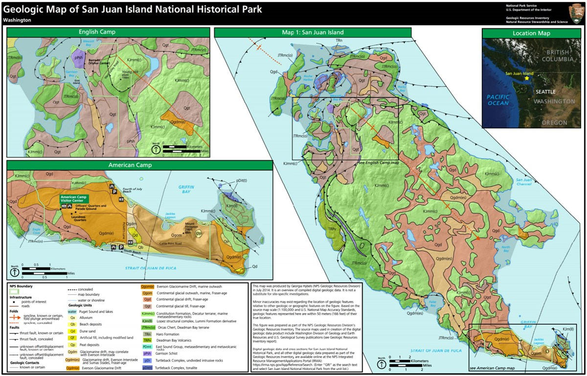 image of park gri geologic map