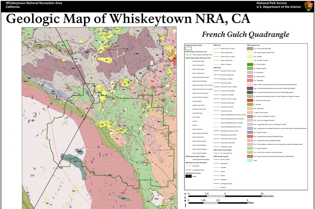 NPS Geodiversity Atlas—Whiskeytown National Recreation Area ...