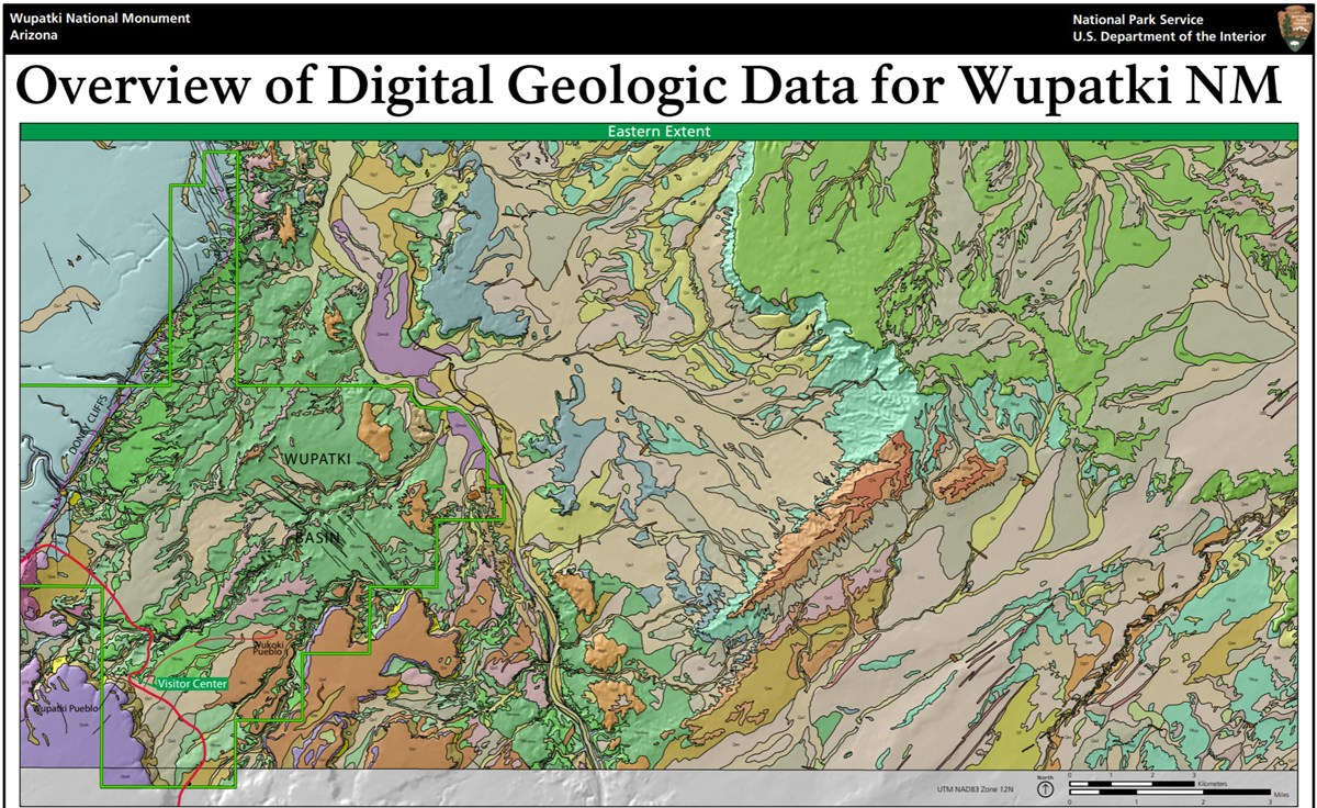 image of wupatki gri geologic map