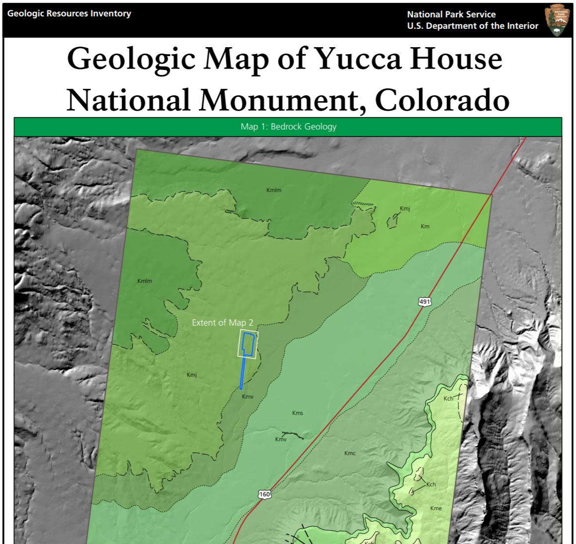 NPS Geodiversity Atlas—Yucca House National Monument, Colorado (U.S. ...