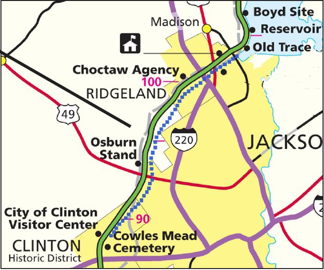 Build Multi-Use Trails Along The Natchez Trace Parkway (U.S. ...