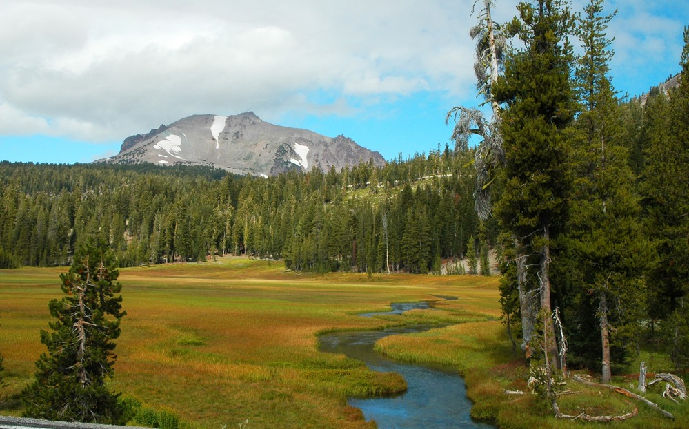 Kings Creek Meadow Fall in Lassen Volcanic NP