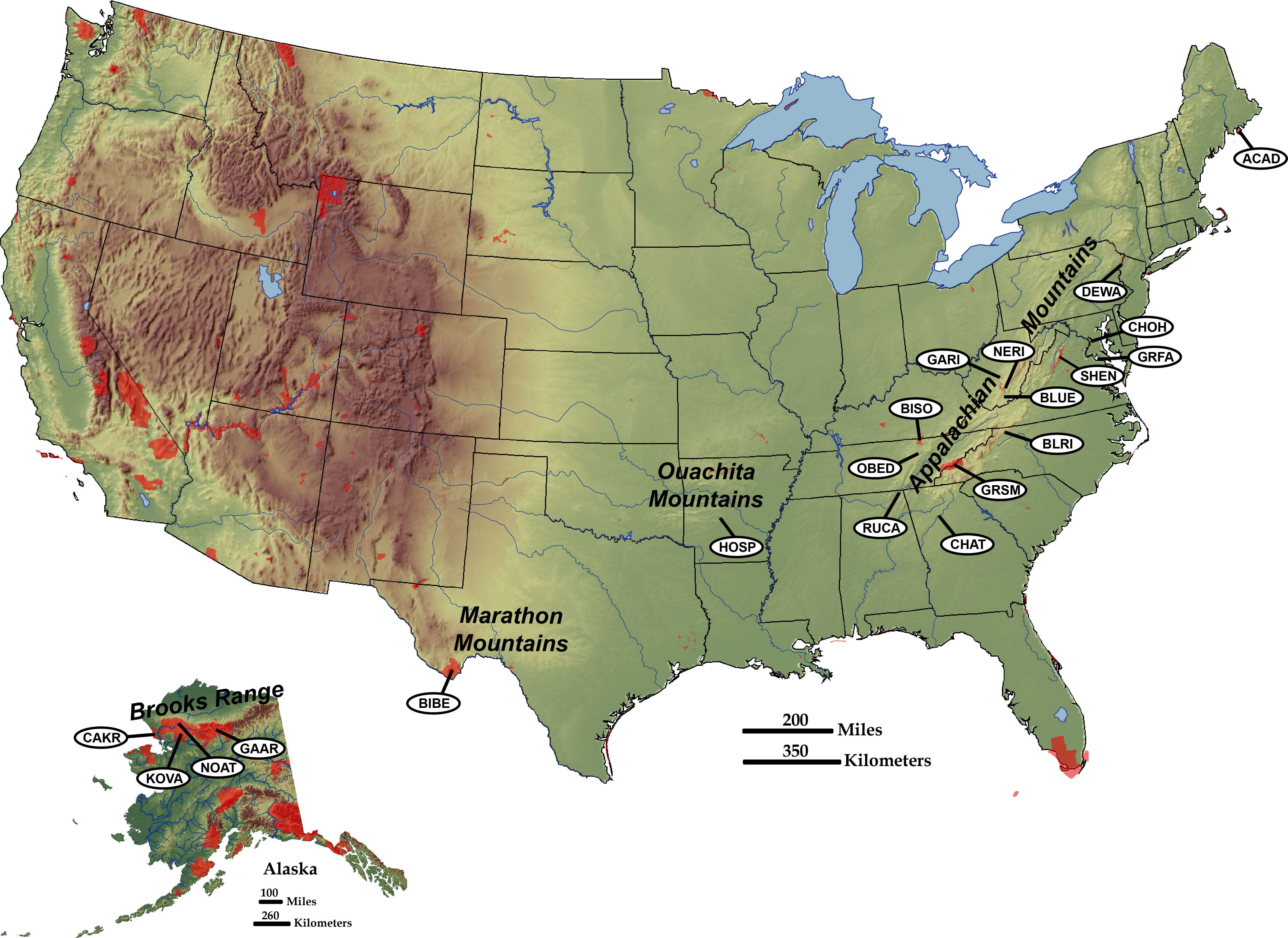 Image of: Convergent Plate Boundaries Collisional Mountain Ranges Geology U S National Park Service