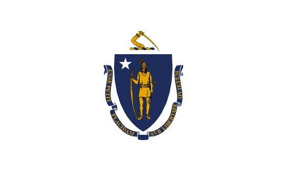 State flag of Massachusetts