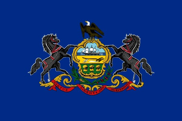 State flag of Pennsylvania