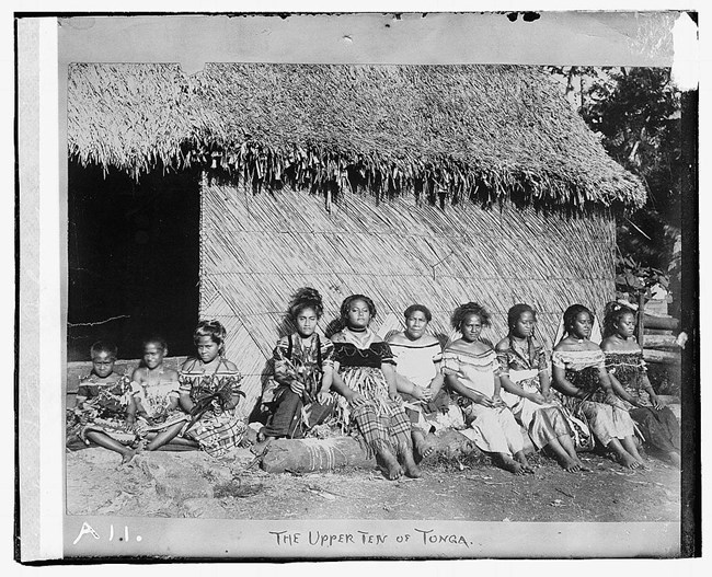 indigenous people of tonga Library of congress