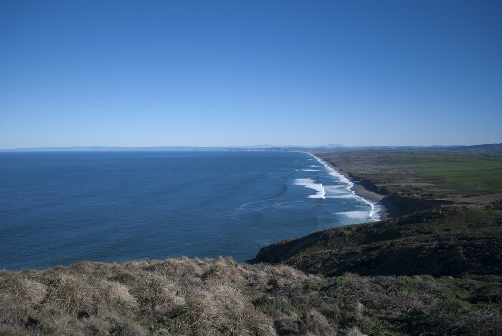 Point Reyes beach and Pacific Ocean