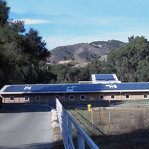 Student Intern Center at Santa Monica National Recreation Area, California.