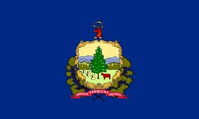 Flag of the state of Vermont