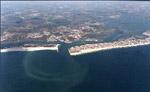 Ocean City, Maryland, lying directly north of the island, is a large, extensively developed resort area accommodating millions of visitors during the summer months. 19 kb