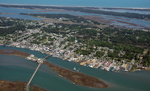 Aerial view of Chincoteague Island. 20 kb