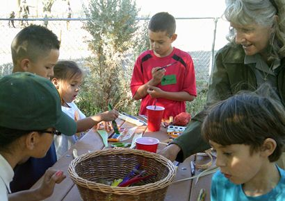 Children in Junior Ranger Camp