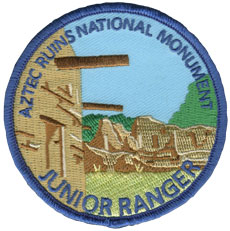 Aztec Ruins Junior Ranger Patch