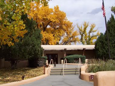 photo of entrance to visitor center