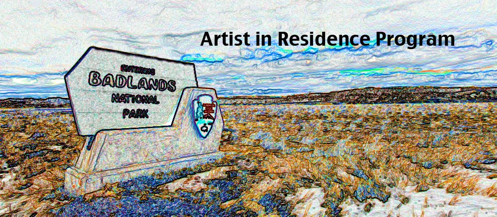 Artist in Residence program graphic by Dudley Edmondson