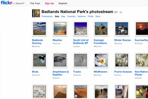 Badlands National Park Flickr photostream