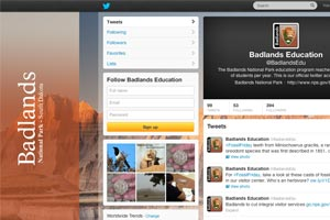Badlands Education Twitter Feed