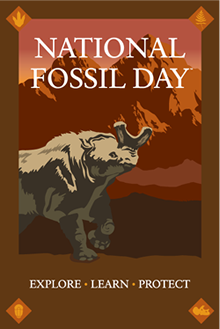 National Fossil Day 2012 logo