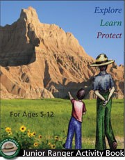 Front page of the Junior Ranger Activity Book
