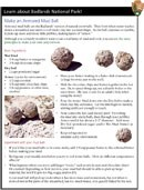 Make an Armored Mud Ball activity page