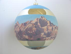 Badlands ornament designed by former Artist in Residence Charlie Lyon
