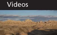 Videos thumbnail with scenic Badlands