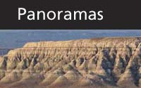 Panoramas thumbnail with scenic Badlands background