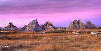Badlands scenic image