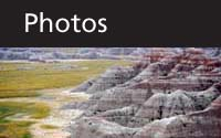 Photos thumbnail with scenic Badlands