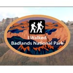 Walk the Badlands Logo