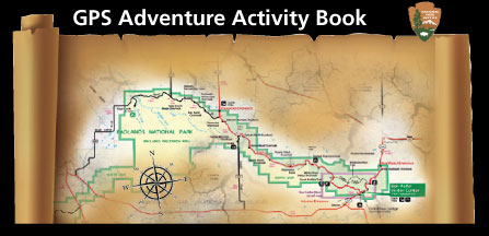Cover page of GPS Adventure Activity Book