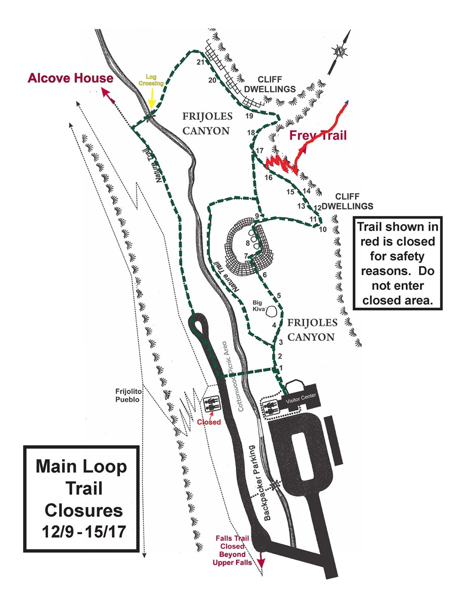 Frey Trail Closure