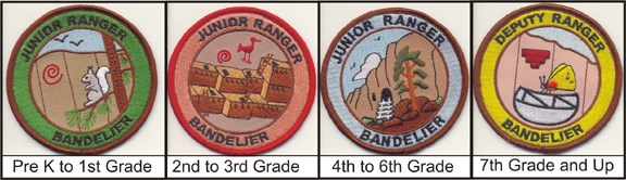 new jr ranger patches