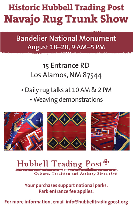 hubbell trading post rug show