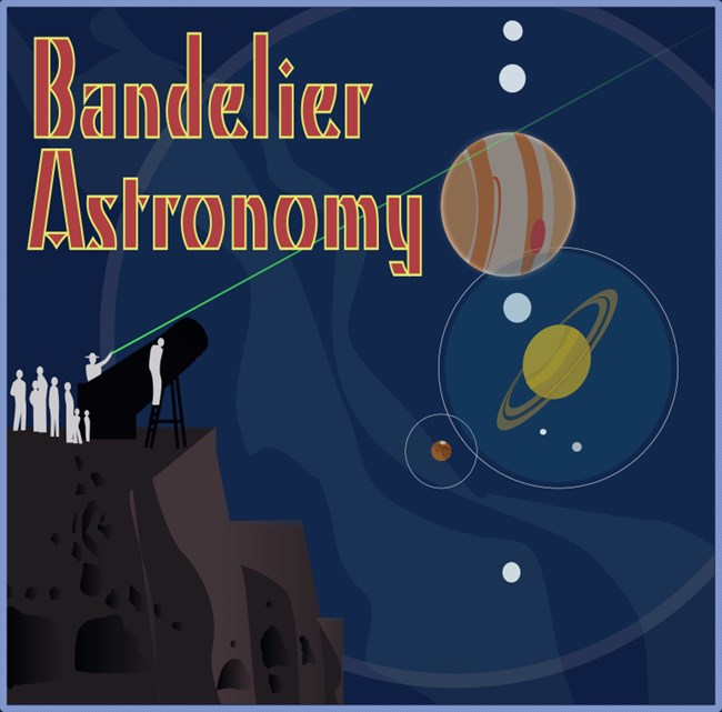 Bandelier Astronomy Poster