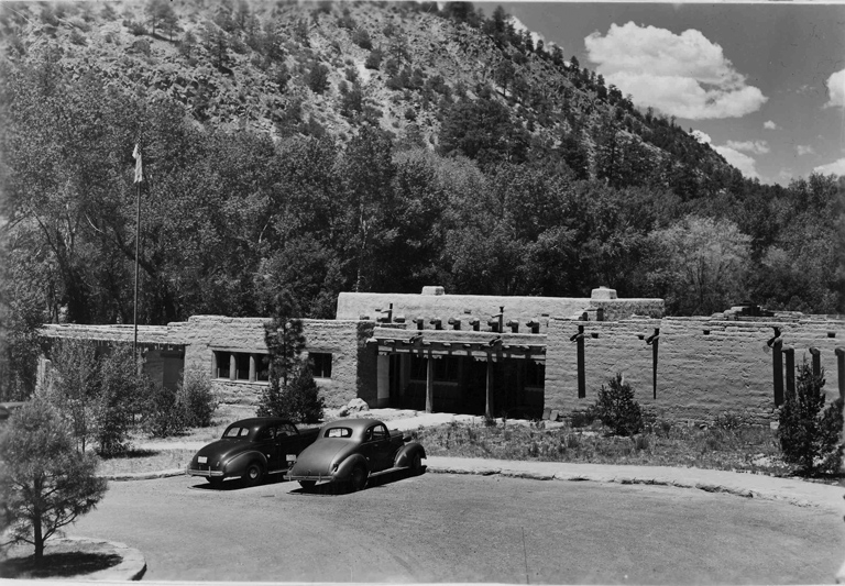 Bandelier visitor center - 1930's