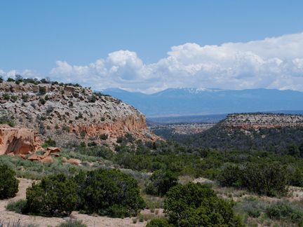 view from Tsankawi