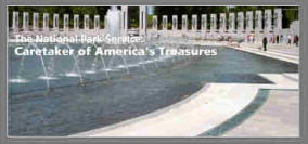 a picture of the WWII Memorial