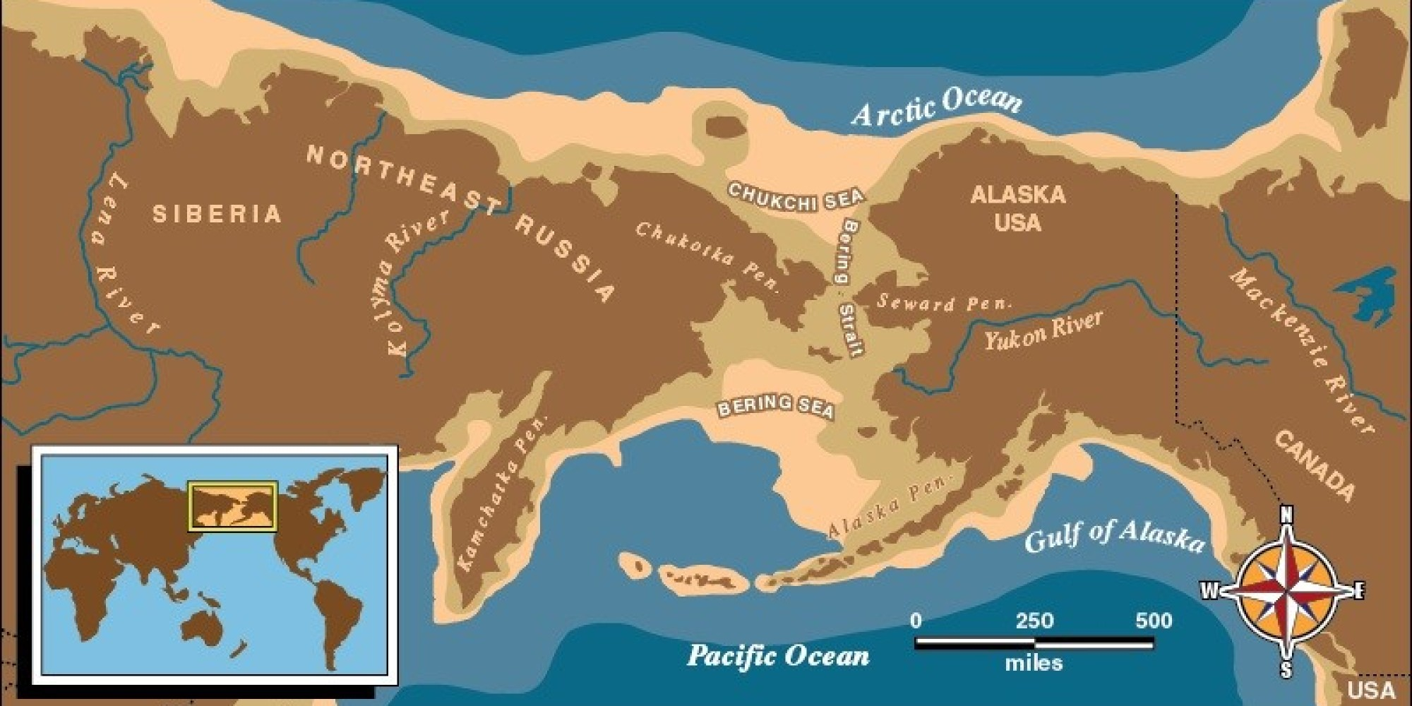 The Bering Land Bridge Theory Bering Land Bridge National Preserve U S National Park Service