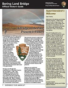 Front page of the visitor's guide