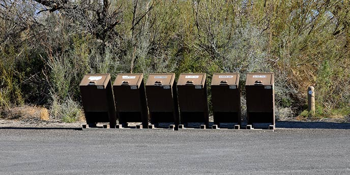 NPS Recycling Bins