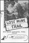 Cover of the Lost Mine Trail Guide, 1956