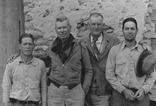 Everett Townsend with members of the 1936 International Park Commission
